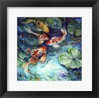 Dancing Colors Koi Fine Art Print