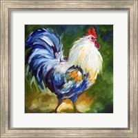 Rooster Walk Fine Art Print