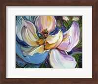 Sweet Maganolia Modern Floral Abstract Fine Art Print