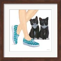 Cutie Kitties III Fine Art Print