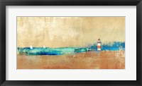 Coast Line and Lighthouse Fine Art Print