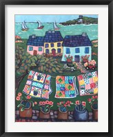 Cottages and Quilts Fine Art Print