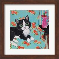 Couch Cat Fine Art Print