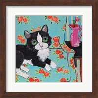Couch Cat Fine Art Print