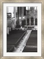 Church Aisle Fine Art Print
