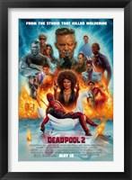 Deadpool 2 Wall Poster