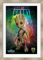 Guardians of the Galaxy - I Am Groot Wall Poster