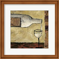 White Wine Pour Fine Art Print