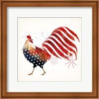 Rooster Fireworks I Fine Art Print