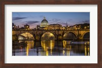 Porte St Angelo Rome Fine Art Print