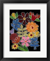 Layered Floral II Fine Art Print
