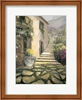 Italian Villa II Fine Art Print