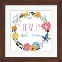Snarky Florals VI Fine Art Print