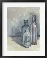 Still Life with Bottles II Fine Art Print