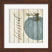 Blessed Blue Pumpkin Fine Art Print
