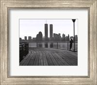 Jersey City Boardwalk Fine Art Print