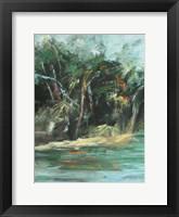 Waterway Jungle I Fine Art Print