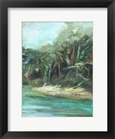 Waterway Jungle II Fine Art Print