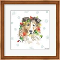 Holiday Paws IX Fine Art Print