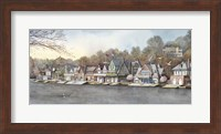 Boathouse Row 7 Fine Art Print
