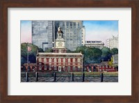 Independence Hall 3 Fine Art Print