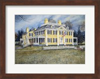 Longfellow's House Fine Art Print