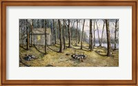Woodland Visitors Fine Art Print