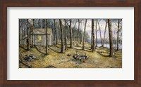 Woodland Visitors Fine Art Print