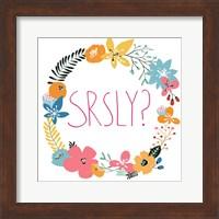 Snarky Florals XI Fine Art Print