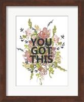 Empower Flowers I Fine Art Print