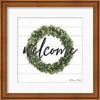 Welcome Wreath Fine Art Print