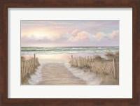 Sunrise Walk Fine Art Print