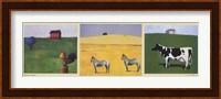 Farmhouse Trilogy Fine Art Print