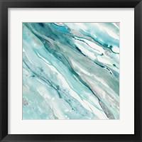Silver Springs II Blue Green Fine Art Print