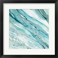 Silver Springs I Blue Green Fine Art Print