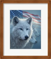 Arctic Wolves America Fine Art Print