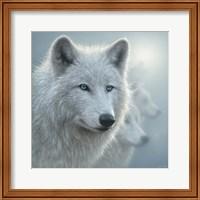 Arctic Wolves - Whiteout Fine Art Print