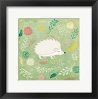 Woodland Hedgehog Fine Art Print