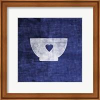 Indigo Bowl Fine Art Print