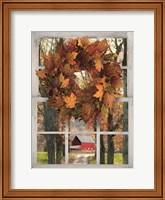 Fall Window View II Fine Art Print