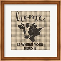 Home is Where Your Herd Is Fine Art Print