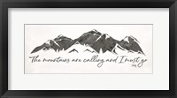 The Mountains are Calling Fine Art Print