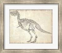 T-Rex Skeleton Fine Art Print