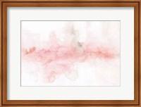 Rainbow Seeds Abstract Blush Gray Crop Fine Art Print