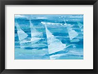 Summer Sail III Blue Fine Art Print