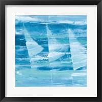 Summer Sail I Blue Fine Art Print