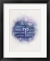 Starlight Astology Aries Fine Art Print
