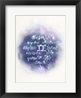 Starlight Astology Gemini Fine Art Print