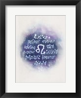 Starlight Astology Leo Fine Art Print