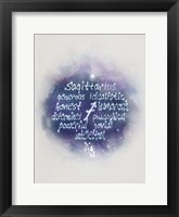 Starlight Astology Sagitarius Fine Art Print